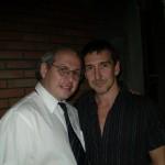 Con Julio Bocca