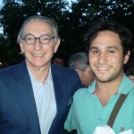 Con el director de la Orquesta de San Francisco Michael Tilson Thomas